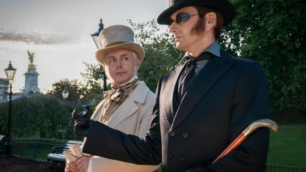 Michael Sheen and David Tennant in Good Omens