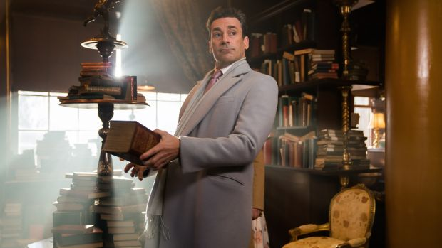 John Hamm in Good Omens