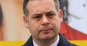 Sinn Féin deputy leader Pearse Doherty: 'What we have are the posh boys and girls of Fine Gael developing policies for people who are struggling.' Photograph: Gareth Chaney/Collins