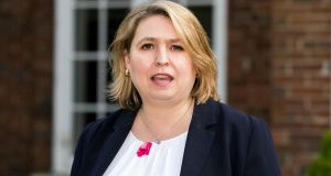 Secretary of State for Northern Ireland Karen Bradley said a public consultation on draft legislation had identified a series of key issues related to the redress scheme for abuse victims that needed to be hammered out. Photograph: Liam McBurney/PA Wire