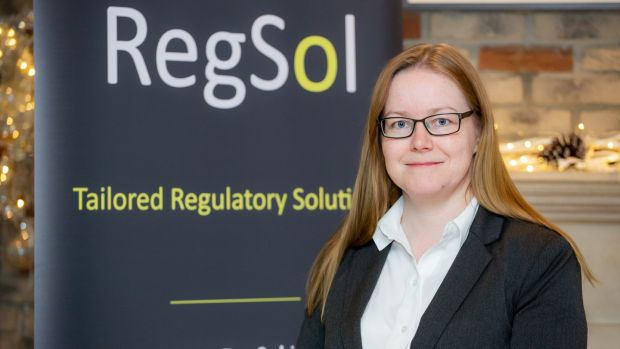 AnneMarie Whelan got the idea for RegSol when she stepped away from the courts after nine years and began working as a data protection officer