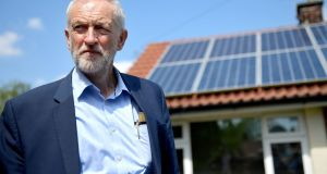 "Labour Party leader Jeremy Corbyn: In a letter to Theresa May, he wrote ""it has become clear that, while there are some areas where compromise has been possible, we have been unable to bridge important policy gaps between us"". Photograph: Anthony Devlin/Getty Images"
