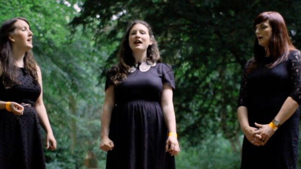 Sisters, Rachel and Becky Unthank will be joined by Unthanks member Niopha Keegan to make a vocal trio