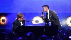 Elton John and Taron Egerton perform 'Rocketman' in Cannes