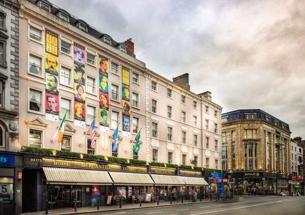 The Mercantile Group has been told by Dublin City Council to reduce the scale of its planned €10 million revamp of the Mercantile Hotel on Dame Street.