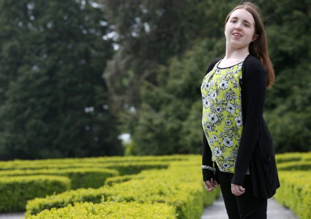 Ali Molloy has always enjoyed visiting the National Botanical Gardens in Dublin but her dyspraxia has made doing this more challenging. Photograph: Laura Hutton/The Irish Times