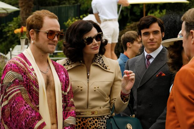 Cannes 2019: Taron Egerton as Elton John, Bryce Dallas Howard as his mother, and Richard Madden as John Reid in Rocketman, directed by Dexter Fletcher