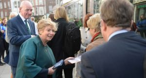 It seems likely that Fine Gael's European candidate in Dublin, Frances Fitzgerald, will easily top the poll. Photograph: Dara Mac Donaill / The Irish Times