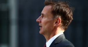 Britain's foreign secretary Jeremy Hunt says Iranian regime's conduct has worsened. Photograph: Hannah McKay/Reuters