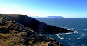 Just as small stand-alone hills can provide big mountain views, a short headland can give a new perspective of its larger neighbours.