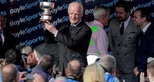 Champion trainer Willie Mullins sends multiple runners to France this weekend in the hope of landing elusive renewals. Photograph: Lazlo Geczo/Inpho