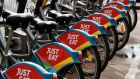 Just Eat's London share price has been knocked by fears it may lose a food delivery race. Photograph: Alan Betson/The Irish Times