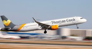 Thomas Cook issued its third profit warning in less than a year on Thursday. Photograph: Paul Hanna/Reuters