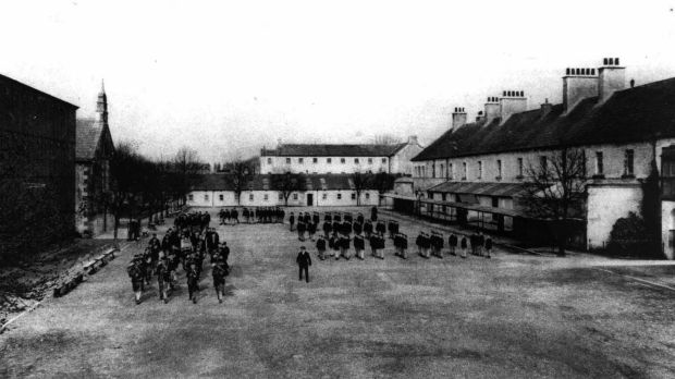 Archive Images of St Conleth's Reformatory School at Daingean, Co Offaly