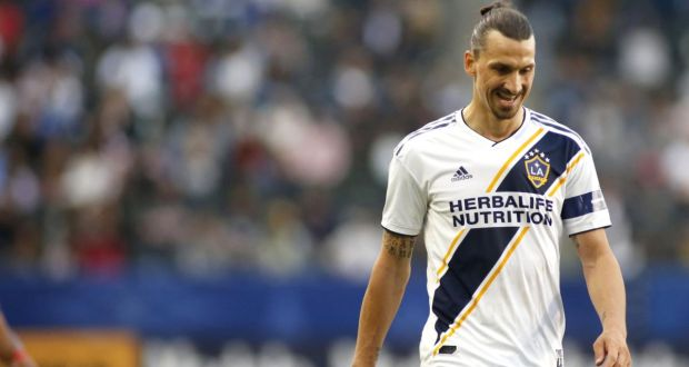 new concept ceec3 73fed Zlatan Ibrahimovic banned for violent conduct in LA Galaxy ...