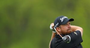 Shane Lowry carded a two-under 68 in the third round of the US PGA at Bethpage Black in Farmingdale, New York. Photograph: Warren Little/Getty Images