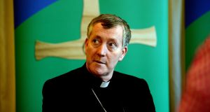 Bishop Denis Nulty: 'The objective of the proposed referendum is not to support marriage, rather to liberalise divorce'. Photograph: Cyril Byrne