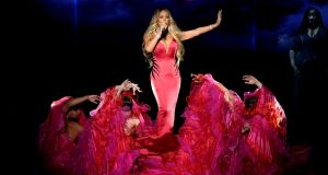 Mariah Carey: the first time the Grammy-winning singer brings a tour to Ireland.  Photograph: Kevin Winter/Getty Images