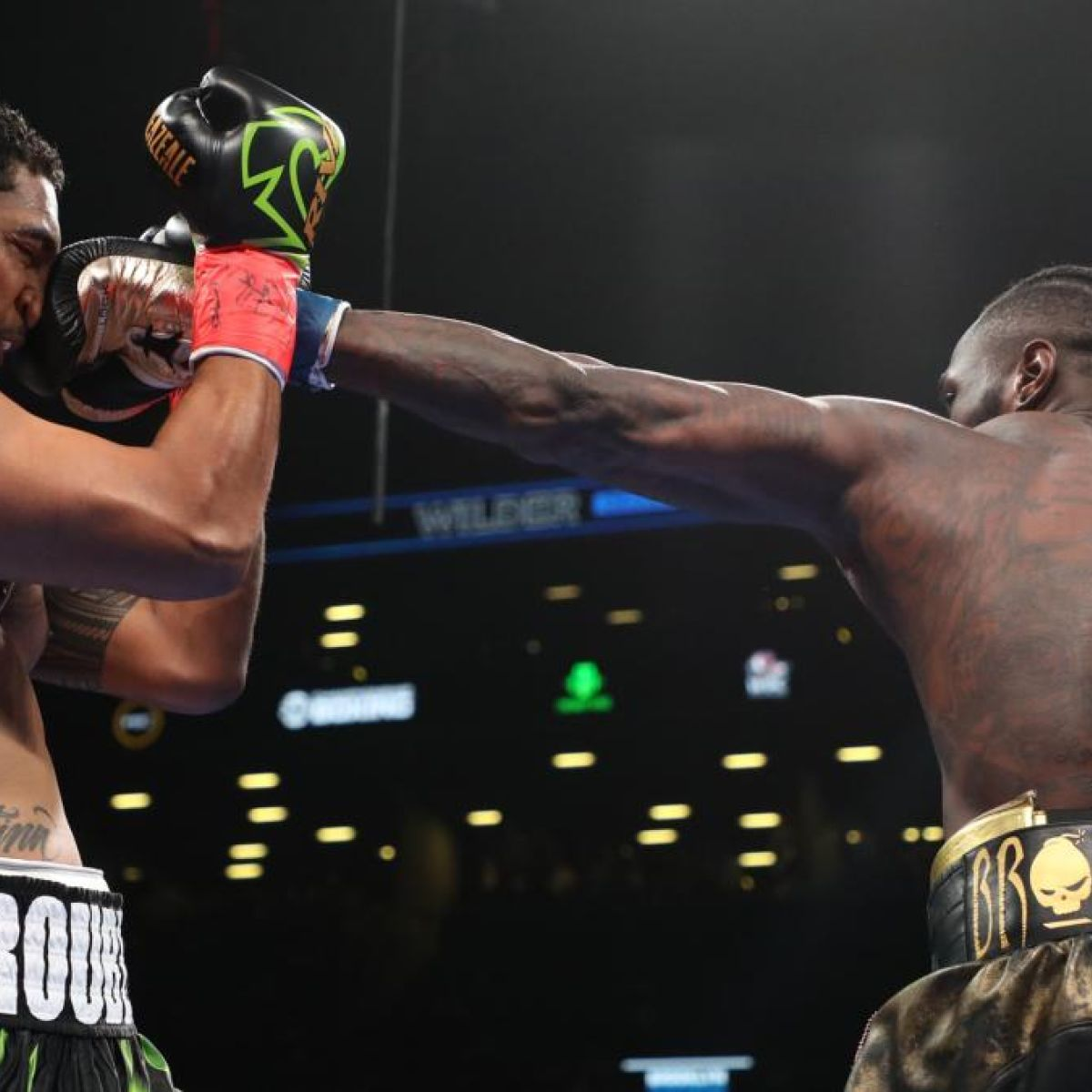Deontay Wilder Takes 137 Seconds To Dispatch Dominic Breazeale In