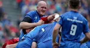 Devin Toner limped off in the Pro14 semi-final on Saturday. Photograph: Dan Sheridan/Inpho