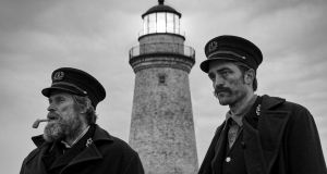 Cannes catch: Willem Dafoe and Robert Pattinson in Robert Eggers's extraordinary film The Lighthouse