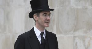 Jacob Rees-Mogg: the MP is often referred to as the honourable member for the 18th century, 'a nod to those funny clothes he wears, along with pretending not to know' any pop songs.  Photograph: Colin McPherson/Corbis/Getty