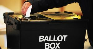 Labour's Brian McDonagh said it was vital for democracy that sealed ballot boxes were  witnessed being opened at local count centres. Photograph: Rui Vieira/PA
