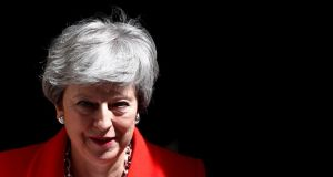 A spokesman for British prime minister Theresa May said any commitment made in British law would be consistent with that instrument and with the withdrawal agreement itself. Photograph: Hannah Mckay/Reuters/File