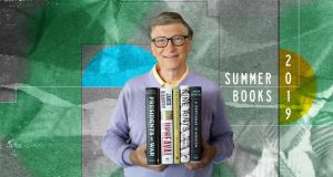 Bill Gates with his summer reading recommendations