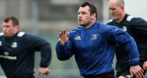 Leinster's Cian Healy has signed a new IRFU contract. Photo: Oisin Keniry/Inpho