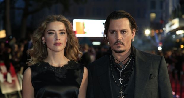 Johnny Depp claims Amber Heard was the perpetrator of voilence in their relationship. File Photograph: Jonathan Brady/PA Wire
