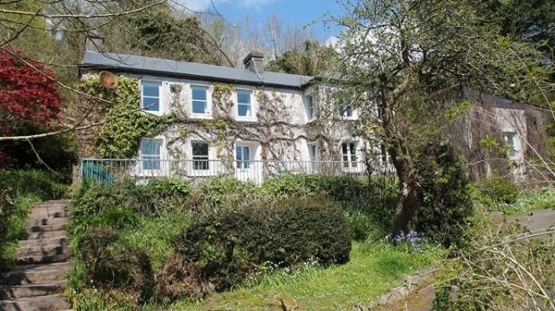 Folly House, Dromderrig, Kinsale, Co Cork: views over the water