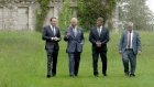 Prince of Wales meets 'close friends' in Garden of Ireland