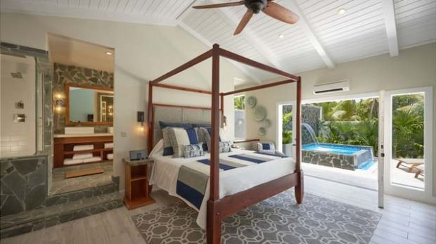 One of the plunge pool butler suites at Serenity at Coconut Bay