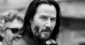 Keanu Reeves: 'We're only getting to tell these stories because of the audience.' Photograph: Emma McIntyre/Getty