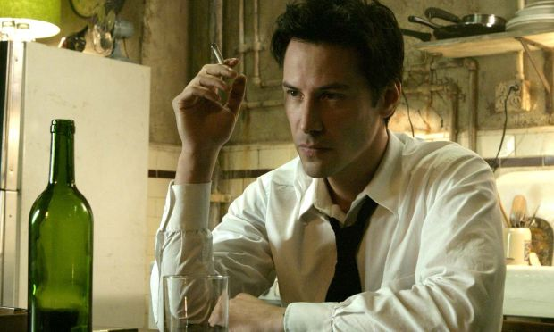 Keanu Reeves in Constantine, one of his favourite roles, from 2005