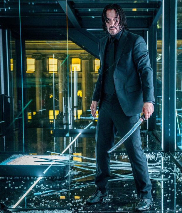 Keanu Reeves in John Wick – Chapter 3: 'We certainly didn't know when we started that it would become like this.' Photograph: Niko Tavernise