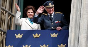 Queen Silvia of Sweden and King Carl XVI Gustaf of Sweden. Photograph:  Michael Campanella/WireImage/Getty Images