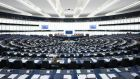 The European Parliament in Strasbourg.  Photograph: Jasper Juinen/Bloomberg