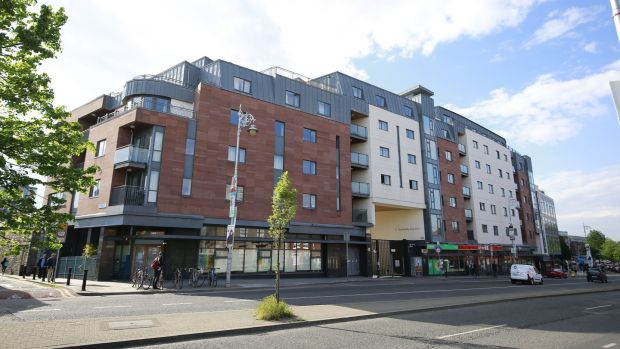 Serious balcony and fire safety defects have been identified at Cathedral Court in Dublin 8. Photograph: Nick Bradshaw/The Irish Times.
