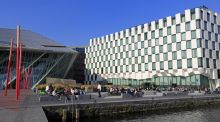 "Grand Canal dock in Dublin. Employment Conditions Abroad  estimates that the average pay deal for a ""mid-level"" expatriate working here rose €11,395 to €198,682 last year."