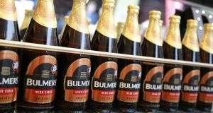 C&C reported a flat performance in Bulmers, but margins improved and the brand stabilised. Photograph: Nick Bradshaw