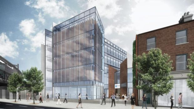 A new entrance to the Business School on Pearse Street will deliver a much-needed boost to that neglected area of south inner-city Dublin