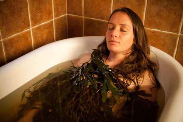 Voya: the Co Sligo bathhouse uses seaweed harvested from the Atlantic coast