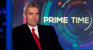 Prime Time Election Debate moderator David McCullagh