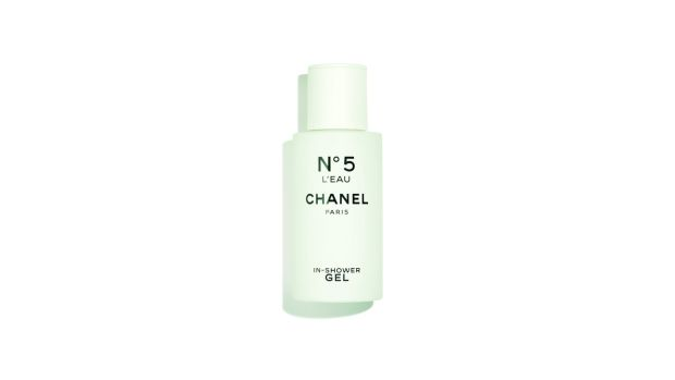 Chanel No.5 L'Eau In-Shower Gel, €40 at Brown Thomas.