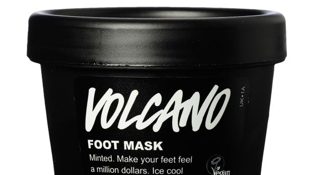 Lush Volcano Foot Mask, €10.95 at Lush stores.