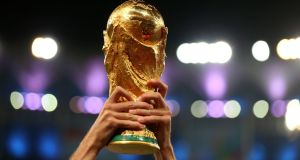 The 2022 World Cup in Qatar will take place with 32 teams, FIFA has announced. Photo: Mike Egerton/PA Wire