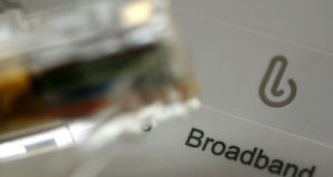 The full cost of the National Broadband Plan will be included on the State's balance sheet. Photograph: Rui Vieira/PA Wire