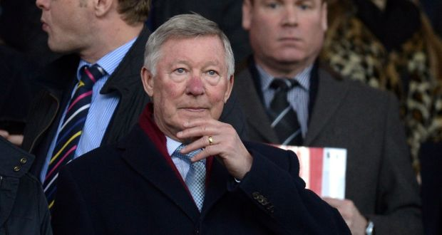 """Former Manchester United manager Alex Ferguson: """"It is unfair . . . to try and retain the authority you once possessed. You have to let go and let the new man and the new regime do what they think is best."""" Photograph: Oli Scarf/AFP/Getty"""